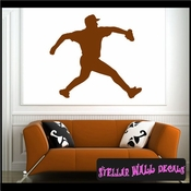 Baseball ST010 Sports Icon Wall Mural Vinyl Decal Sticker SWD