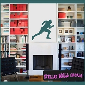 Baseball ST011 Sports Icon Wall Mural Vinyl Decal Sticker SWD