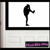 Baseball ST013 Sports Icon Wall Mural Vinyl Decal Sticker SWD