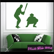 Baseball ST015 Sports Icon Wall Mural Vinyl Decal Sticker SWD