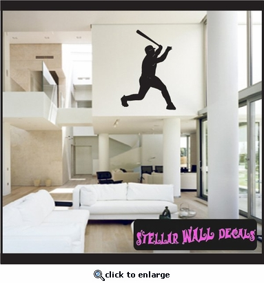 Baseball ST017 Sports Icon Wall Mural Vinyl Decal Sticker SWD