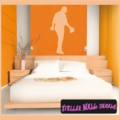 Baseball ST021 Sports Icon Wall Mural Vinyl Decal Sticker SWD