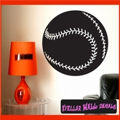 Baseball ST022 Sports Icon Wall Mural Vinyl Decal Sticker SWD