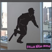 Baseball ST025 Sports Icon Wall Mural Vinyl Decal Sticker SWD