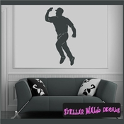 Baseball ST026 Sports Icon Wall Mural Vinyl Decal Sticker SWD