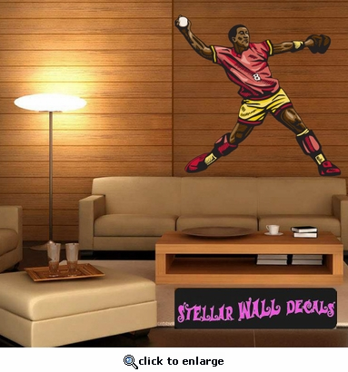 Baseball Throwing Hitting Pitching Batting Catching Sliding Swinging CDSColor058 Sports Vinyl Wall Decal - Wall Mural - Car Sticker  SWD