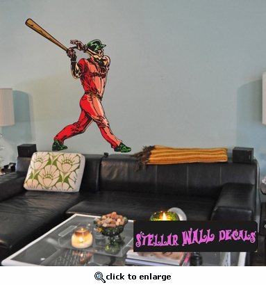 Baseball Throwing Hitting Pitching Batting Catching Sliding Swinging CDSColor145 Sports Vinyl Wall Decal - Wall Mural - Car Sticker  SWD