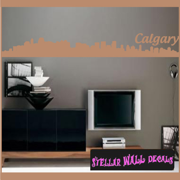 Skyline Decals | Wall Decals | Home Decor | Wall Quotes |  StellarWallDecals.com