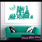 Christmas Holiday Stellar Wall Decal Vinyl Stickers SWD