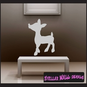 Christmas Rudolph NS001 Wall Decal - Wall Sticker - Wall Mural SWD