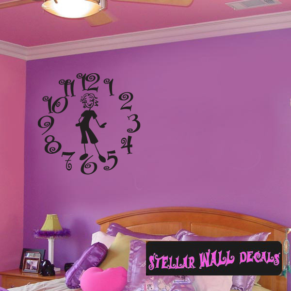 Clock Face Busy Mom Family and Friends Wall Decals - Wall ...