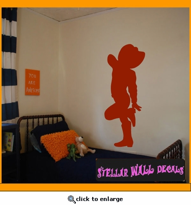 Cowboy Kid NS011 Wall Decal - Wall Sticker - Wall Mural SWD