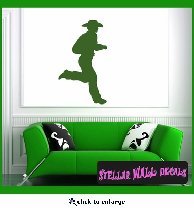 Cowboy NS030 Wall Decal - Wall Sticker - Wall Mural SWD