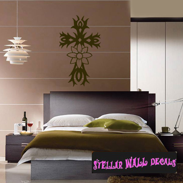 Crosses Decals | Wall Decals | Home Decor | Wall Decals |  StellarWallDecals.com