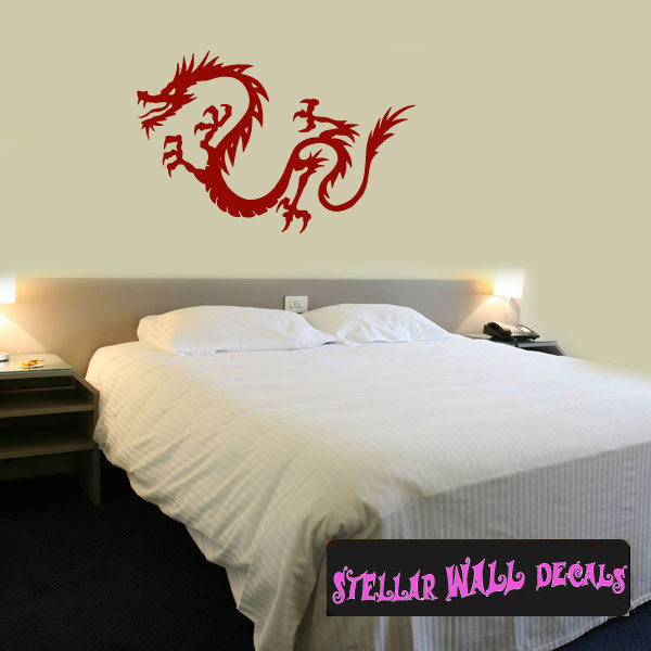 Dragon Decals Wall Decals Home Decor Wall Decals - Custom vinyl wall decals dragon