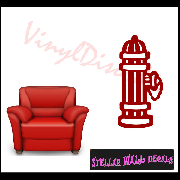Fire hydrant ns002 wall decal wall sticker wall mural swd