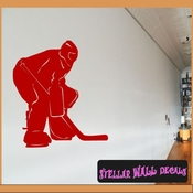 Hockey MC003 Sports Icon Wall Mural Vinyl Decal Sticker SWD