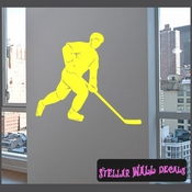 Hockey MC004 Sports Icon Wall Mural Vinyl Decal Sticker SWD