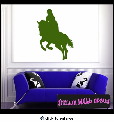 Horse Jumping NS003 Wall Decal - Wall Sticker - Wall Mural SWD