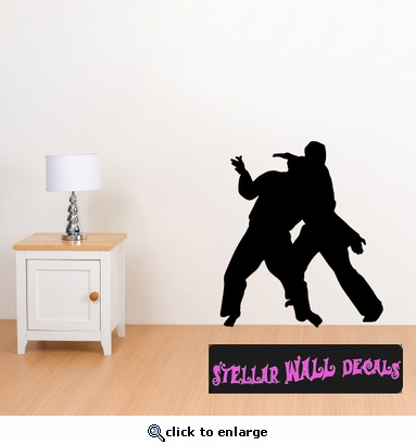 Karate ST001 Sports Icon Wall Mural - Vinyl Wall Decal - Sticker SWD