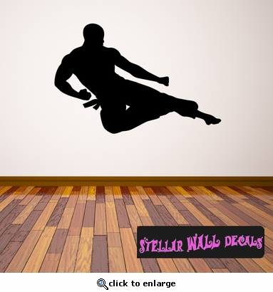 Karate ST003 Sports Icon Wall Mural - Vinyl Wall Decal - Sticker SWD