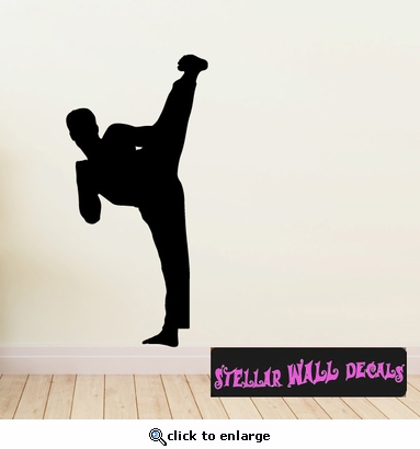 Karate ST005 Sports Icon Wall Mural - Vinyl Wall Decal - Sticker SWD