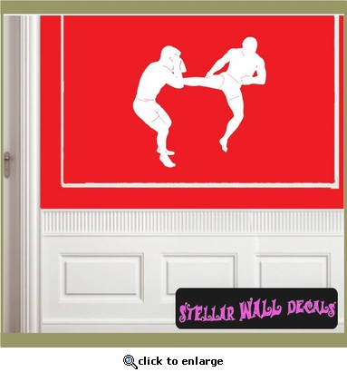 Karate ST007 Sports Icon Wall Mural Vinyl Decal Sticker SWD