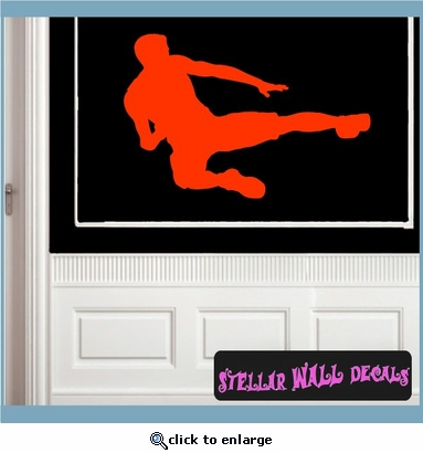 Karate ST013 Sports Icon Wall Mural Vinyl Decal Sticker SWD