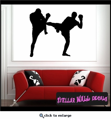 Karate ST015 Sports Icon Wall Mural Vinyl Decal Sticker SWD