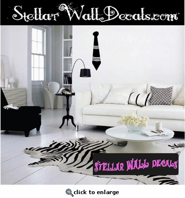 tie stripes fashion Scriptural Christian Wall Decals - Wall Quotes - Wall Murals ARTII8W SWD