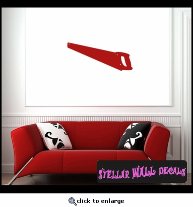 Tools Handsaw NS003 Wall Decal - Wall Sticker - Wall Mural SWD