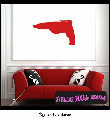 Tools screw gun NS001 Wall Decal - Wall Sticker - Wall Mural SWD