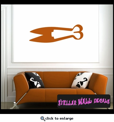 Tools sheer looping NS005 Wall Decal - Wall Sticker - Wall Mural SWD