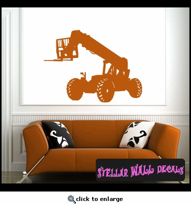Vehicles Forklift NS009 Wall Decal - Wall Sticker - Wall Mural SWD