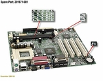 201671-001 Compaq Motherboard System Board For Presario 7400 Series