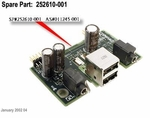 252610-001 HP I/O  board dual USB, headphone, and microphone