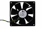 Delta AUB0912VH DC 12V fan - 92x92x25mm - cable with 4 pin