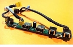 HP 404672-001 Front Audio I/O USB board for DC7700 USDT