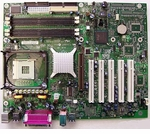 Intel D865PERL C27648 Desktop Board S478 No Network On Board