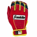David Ortiz CFX� PRO Batting Gloves Neon/Red (Adult)