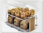 Bakery Cases, Food Bins, and Merchandisers