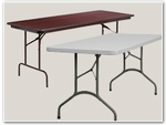 Folding Tables: Plastic & Wood Tables