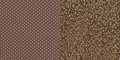 HERCULES Series 21'' Extra Wide Brown Dot Fabric Stacking Church Chair with 4'' Thick Seat - Gold Vein Frame [FD-CH0221-4-GV-BNDOT-GG]