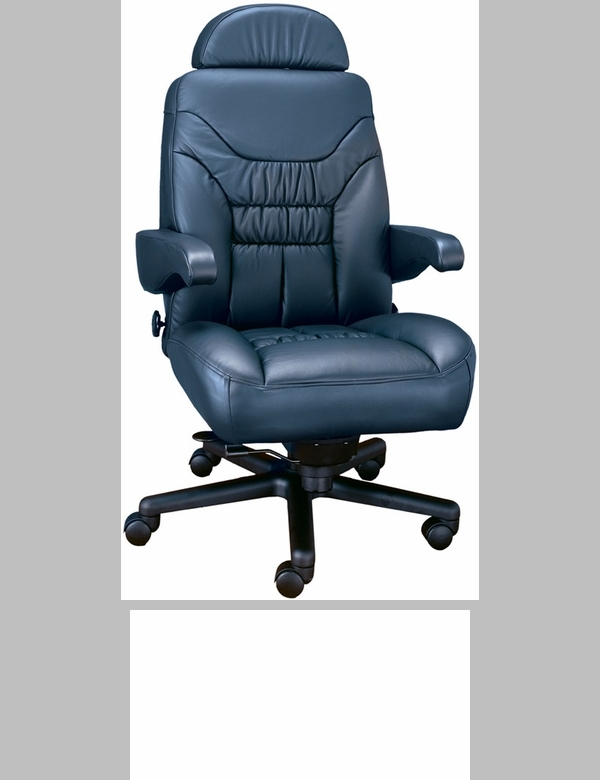 limited high back office chair with lumbar support leathermate of