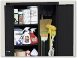 Safety and Janitorial Supply Storage