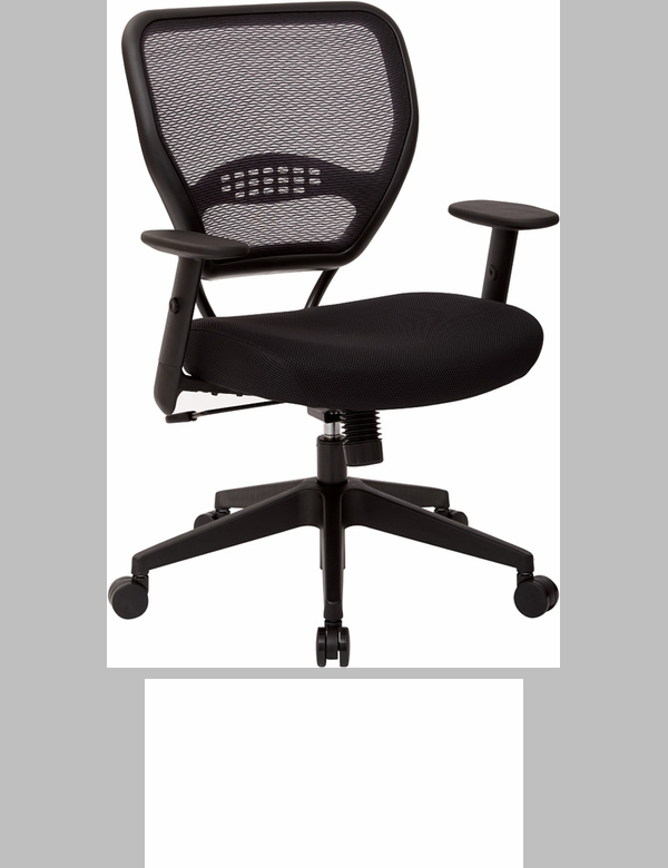 space professional air grid back managers chair with mesh