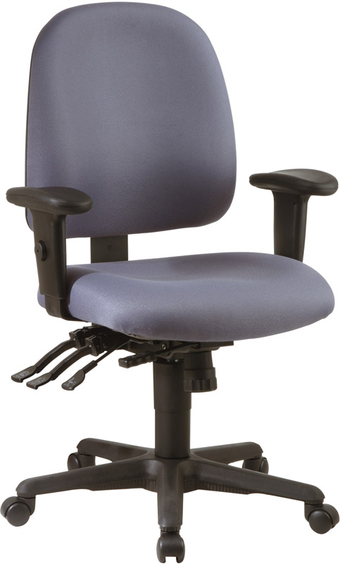Work Smart Multi Function Ergonomic Seat Chair with
