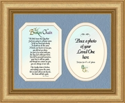 "Broken Chain Poem Photo Frame Gift 10"" X 12"""