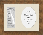 I have fought a good fight Scripture II Timothy 4:7,8a Sympathy Photo Frame (7X9) Gift To comfort in times of Grief, Condolence and Bereavement