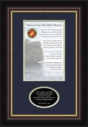 Military Memorial Marine Gift for Sympathy and Condolence for Veterans or those who served in the Military
